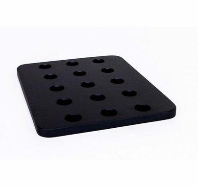 Modern Studio Black Cheeseplate 5x4x1/4
