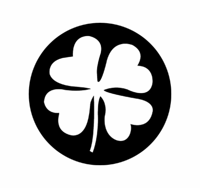 Rosco 77668 Four Leaf Clover St. Patrick's Day Standard Steel Gobo