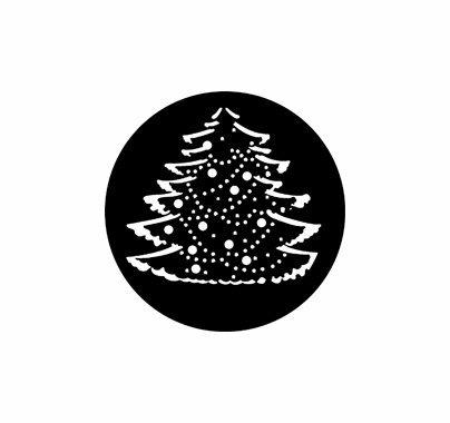 Rosco Christmas Tree Steel Gobo 77227