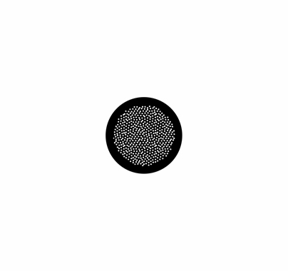 Rosco Egg Dots 78439 Standard Steel Gobo