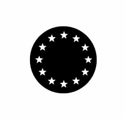 Rosco European Stars 77438 Standard Steel Gobo