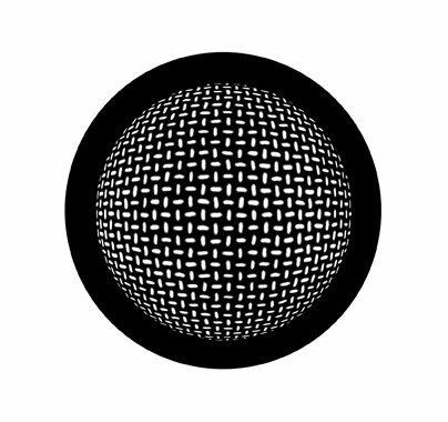 Rosco Grid Sphere 78445 Standard Steel Gobo