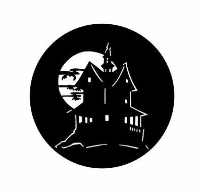 Rosco Haunted House 78102 Standard Steel Gobo