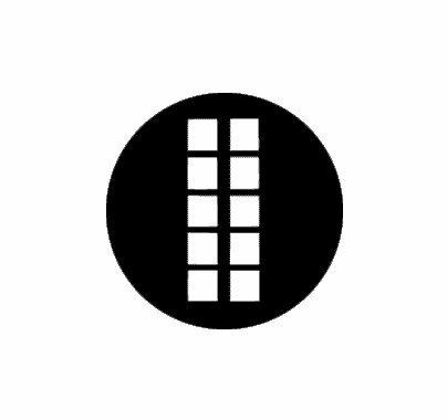 Rosco Linear Window 77511 Standard Steel Gobo