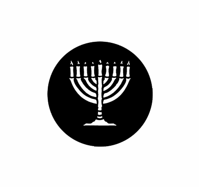 Rosco Menorah Steel Gobo 78007