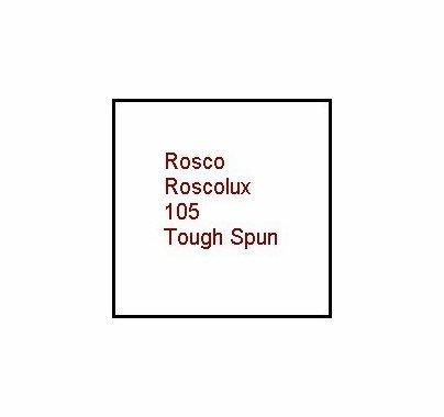 """Rosco Roscolux 105 Tough Spun Diffusion Gel Filter Sheet 20""""x24"""""""