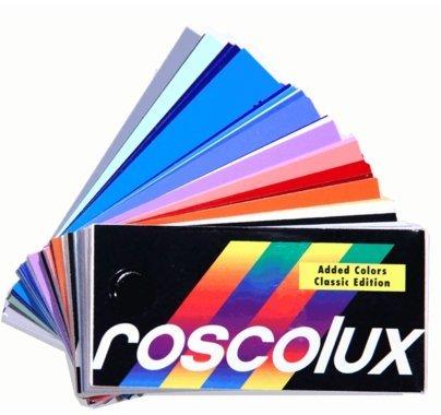 "Rosco Roscolux Lighting Gel Swatchbook 3""x6"""