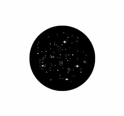Rosco Star Cluster Steel Gobo 77514