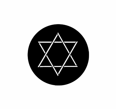 Rosco Star of David Standard Steel Gobo 78005