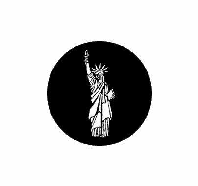 Rosco Statue of Liberty 77307 Standard Steel Gobo