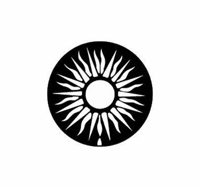 Rosco Sun 77400 Standard Steel Gobo