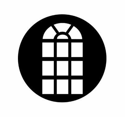 Rosco Venetian Window Standard Steel Gobo Pattern 77139