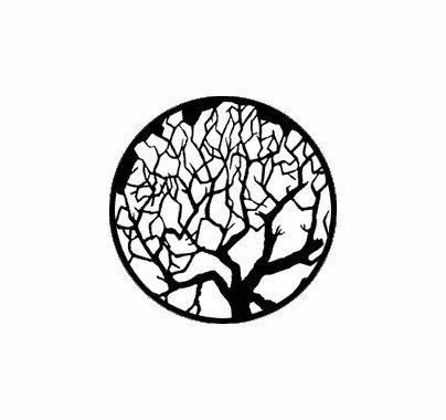 Rosco Winter Tree 1  79101 Standard Steel Gobo