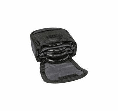 Tiffen Filter Pouch Large Belt Style for Filters 62mm - 82mm, 4BLTPCHLGK
