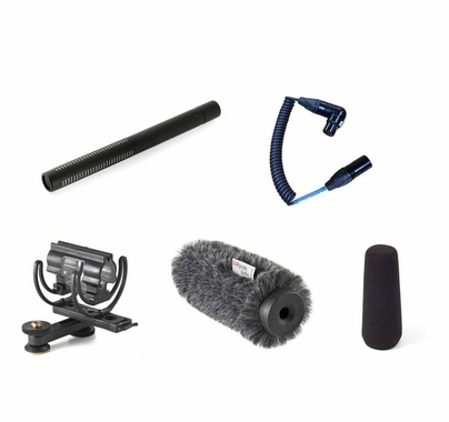 Voice Technologies VT5000 Shotgun Mic Camera Kit