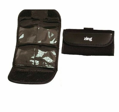 Zing Neoprene Memory Card Holder, Black, 595-101