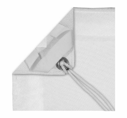 Modern Studio 10x20 Double Scrim (White) With Bag
