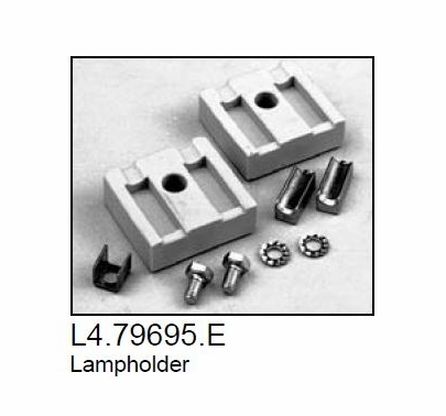 Arri 1000 Plus Fresnel Socket Lamp Holder, Part L4.79695.E