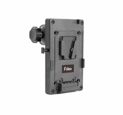 Fiilex V-Mount Battery Plate with Clamp