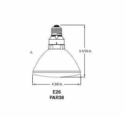 Par 38 70W 120V Flood Bulb