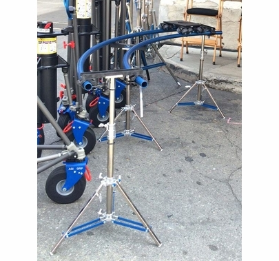 Dana Dolly Curved Track Set - 10ft & 12ft | 2 Pipes