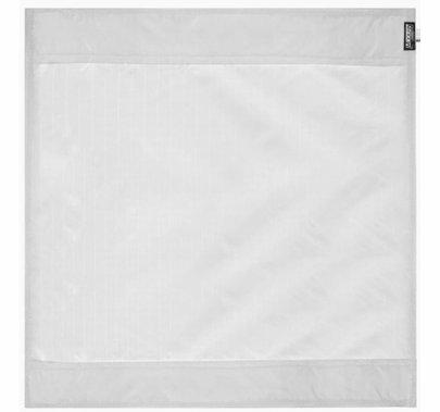 Modern 6ft Wag Flag Silent Quarter Grid Cloth Fabric | NO Frame