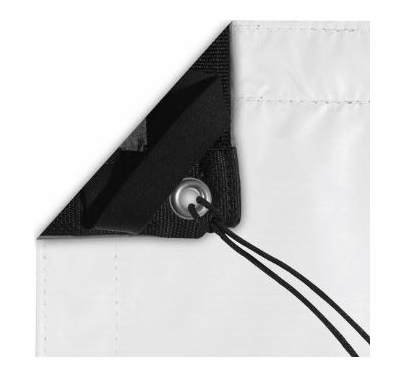Modern Studio 10x20 Black/White Poly Bounce (AKA: Griffolyn) With Bag