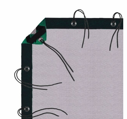 Modern Studio 12' x 20' Single Scrim (Black) with Bag