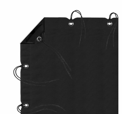 Modern Studio 12' x 20' Solid (Black) with Bag