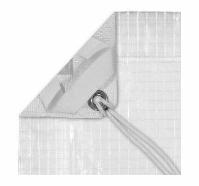 Modern Studio 20'x20' Sail 1/4 Grid Cloth with Bag