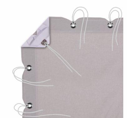 Modern Studio 4' X 4' Night Gray Muslin With Bag