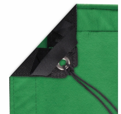 Modern Studio 4x4 Chroma Key Green Screen Fabric w/Bag