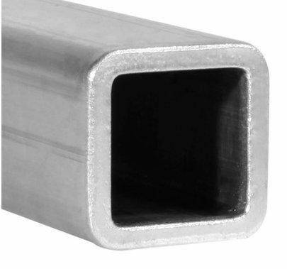 """Square Aluminum Tube Radius Edge 3/4""""   6ft"""