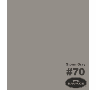 "70 Storm Gray Savage Seamless Paper 107""x12yds  70-12"