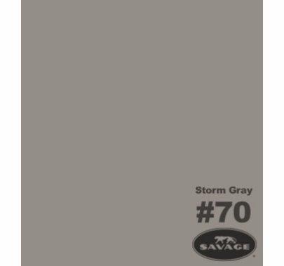 "70 Storm Gray Savage Seamless Paper 53""x12yds 70-1253"