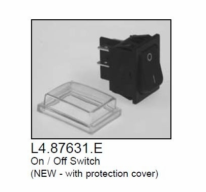 Arri 650 Plus Fresnel Switch  Replacement Part, New Style w/Cover