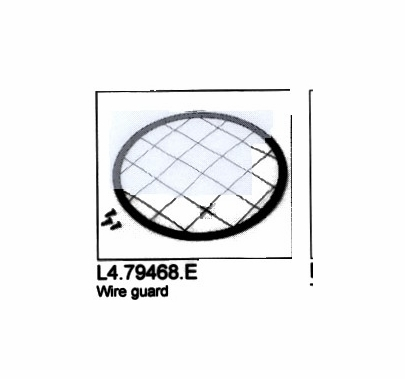 Arri 650 Plus Fresnel Wire Guard / Safety Screen Replacement Part