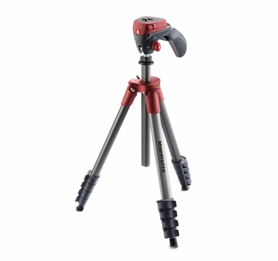 Compact Action Red Tripod