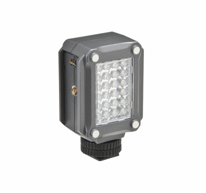 F&V  K160 LED Video Light On Camera