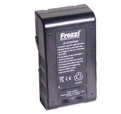 Frezzi 100Wh Lithium-Ion Battery w/ Meter for V-Lock Mount  FLB-100V