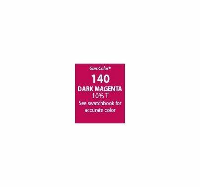 """GAM GAMcolor 140 Dark Magenta Lighting Gel Filter Sheet 20""""x24"""""""