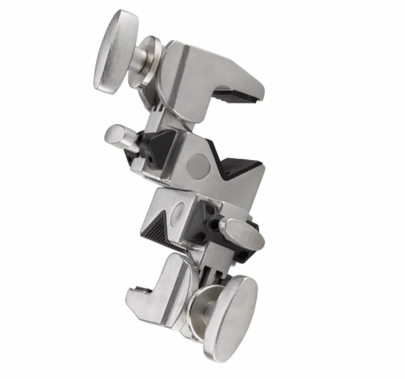 Kupo Grip Double Convi Clamp, Silver, KG702512