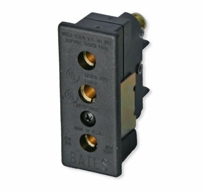 Lex Stage Pin 20A 120VAC Female Panel-Mount Connector
