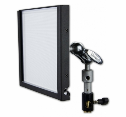 "LitePad Axiom  6""x6"" Daylight 6000K LED Light w/Pwr Supply"