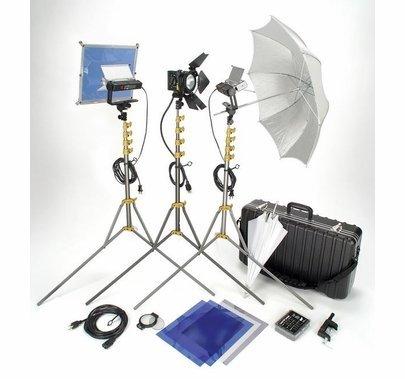 Lowel Go Jet Set Video 3 Light Kit with Soft Case VP-97ULBZ