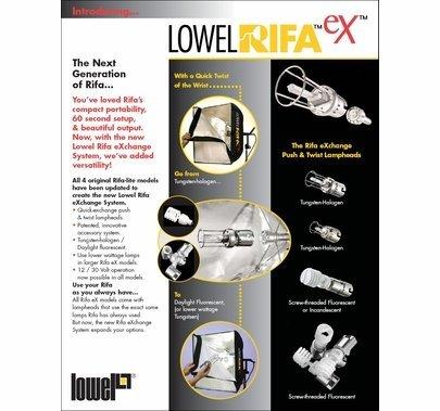 Lowel Rifa Lite 55 500W, LC-55EX