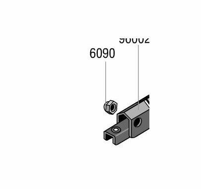 Lowel Tota / Omni Light Lock Nut, Part 6090