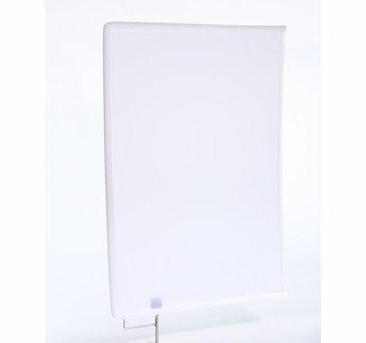 Modern Studio 24x36 Artificial Silk White