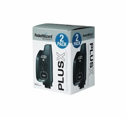 PocketWizard Plus X  Wireless Radio Trigger 2 Pack