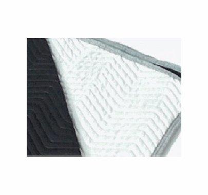 Premium Black / White Sound Blanket 72x80 in. No Grommets